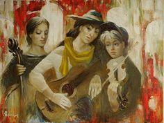Musicians by Anatoliy Rozhansky