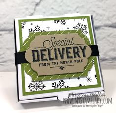 Stampin' Up! Merry Little Labels Gift Card Kit on www.mystamplady.com