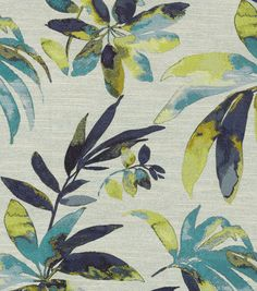 Swavelle Mill Creek Home Decor Print Fabric-Carribeean