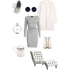 A fashion look from December 2014 featuring Designers Remix dresses, MANGO coats and Maison Martin Margiela ankle booties. Browse and shop related looks. Mango Coats, White Leather Boots, Martin Margiela, December 2014, Ankle Booties, Designers, Fashion Looks, Grey, Shopping