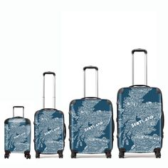 Gillian Kyle has designed some fabulous very Scottish suitcases.  In a variety of sizes these fabulous lightweight suitcases are easily identified at any airport. They are made to order and will be shipped to you in about one week.