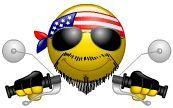 Animated Motorcycle Birthday Cards   ... male, harley davidson, character, rock, usa, flag, animated, animation   Books Worth Reading   Pinterest   Smileys, Mo…