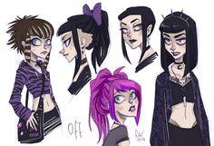 off - hairstyles by Fukari.deviantart.com on @deviantART