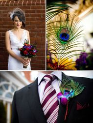 A lovely board from someones wedding....I love the grooms tie