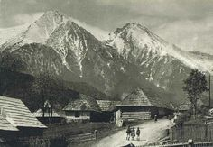 Mountain Village, Old Photos, Mount Everest, Europe, Mountains, Places, Pictures, Travel, Nice