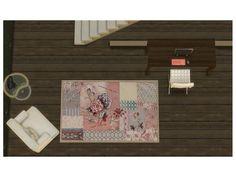 simsoertchen's sweet vintage rug set.