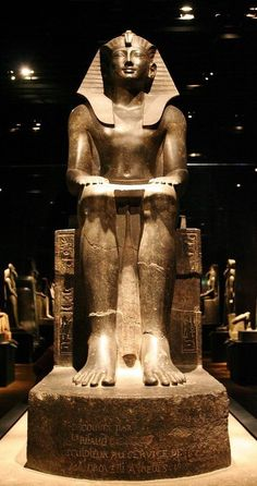 statue of King Thutmosi III (ca. Now in the Egyptian Museum of Torino Ancient Egypt Pharaohs, Ancient Egyptian Artifacts, Ancient Egypt History, Ancient Aliens, Ancient Civilizations, Egyptians, Ancient Greece, Cultures Du Monde, Old Egypt