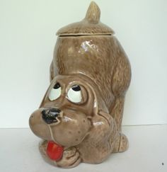 McCoy -  a cookie jar I've never seen.  Really cute!