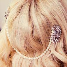 Euphoria Boutique New season Vintage Bridal Forehead Band