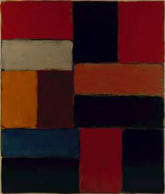 Wall of Light Roma by Sean Scully