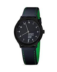 Mondaine Helvetica No1 New York Edition Watch, 40mm