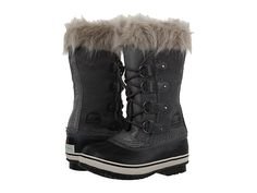 SOREL Kids Joan of Arctic (Little Kid/Big Kid) Quarry - Zappos.com Free Shipping BOTH Ways