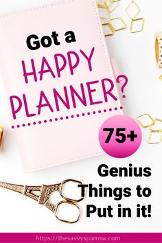Planner Organization Ideas – Things to Put in Your Planner These are the best planner organization ideas! Great inspiration for how to use Happy Planner! Definitely going to use these planner ideas for organizing my planner! To Do Planner, Mini Happy Planner, Cute Planner, Planner Tips, Planner Layout, Goals Planner, Planner Pages, Printable Planner, Organized Planner