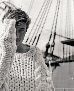"manniskorarkonstiga: "" Lucky Blue Smith photographed by Laura Coulson for Evening Standard magazine """