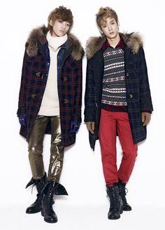 니엘 (Niel) and 천지 (ChunJi), 화보 (Teen Top)