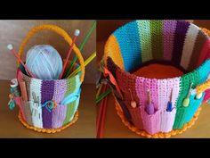 Diy Makeup Organizer Cardboard, Crochet Crafts, Diy Crafts, Knitting Patterns, Organization, Crafty, Sewing Room Organization, Crochet Organizer, Crochet Doily Rug