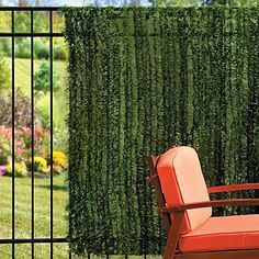 Faux Grass Weave Privacy Screen