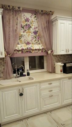 Kitchen blinds & curtains