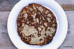 Tynde pandekager uden sukker og gluten