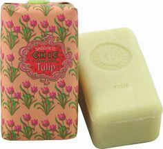 Claus Porto Chic Tulpen Seife / 150 g