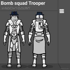 Star Wars Art, Star Trek, Star Wars Painting, Galactic Republic, Star Wars Models, The Old Republic, Body Armor, Clone Trooper, Star Wars Characters