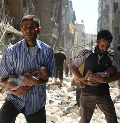 Take two minutes to demand the Syrian and Russian governments safely evacuate the tens of thousands trapped there now.