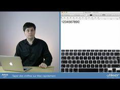 Astuce 7 - Taper des chiffres sur Mac rapidement