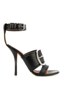 Love this: Givenchy Odia Leather Sandals @Lyst