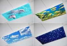 Flexible fluorescent light cover films skylight ceiling office drop ceiling lighting covers aloadofball Gallery