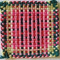 Makes 8 Potholders! Our Pro Size Cotton Loops available in 34 beautiful colors and guaranteed to fit our metal looms! Potholder Loom, Potholder Patterns, Loom Patterns, Potholders, Loom Knitting Stitches, Crafts For Kids, Arts And Crafts, Weaving Projects, Weaving