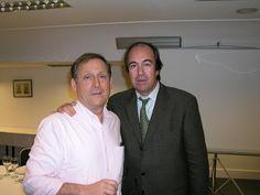 Con Nando Parrado, superviviente avión de Los Andes. En Euroforum (El Escorial)