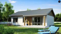 """ПРОЕКТЫ СОВРЕМЕННЫХ ОДНОЭТАЖНЫХ ДОМОВ до 150 кв.м..дизайн интерьера от """"NAVIДОМ""""   ЖУРНАЛ """"ВАШ ДОМ"""" и не только... Home Interior Design, Exterior Design, Cottage Design, House Design, My Ideal Home, Wood Home Decor, Design Case, Future House, Beautiful Homes"""