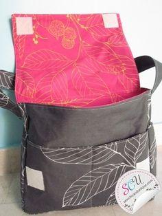 messenger bag tutorial...no velcro