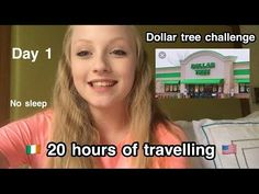 20 HOURS TRAVELLING / DOLLAR TREE CHALLENGE / DAY 1 Cruises, Dollar Tree, Travelling, Ireland, Challenges, Florida, Holiday, Vacations, Cruise