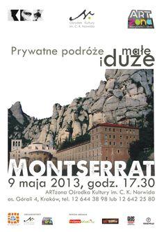 Maj 2013 w Montserrat z Gosią Hajto.