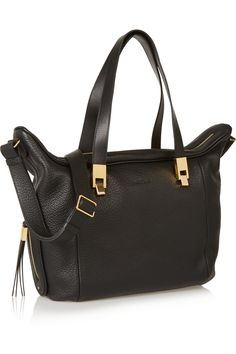 See by Chloé Andrea textured-leather tote NET-A-PORTER.COM