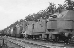 In Flames Of War the new German Tank-hunter car can be combined with Battlefront's Polish Armoured train to field a Captured Armoured Train from Grey Wolf