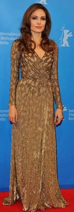 Angie in Jenny Packham