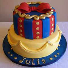 Snow white cake. Could be adapted for any princess!