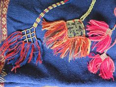 Tassels from Siksälä head piece and small one was at leg wraps