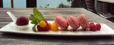 Raspberry French Macarons with Raspberry Balsamic Filling from Paradise Point Chef Jessie Lee Williams
