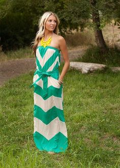 chevron-summer dress