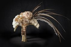Bridal Nouveau By Coby Neal AIFD, PFCI, of The Flower Studio in Austin, Texas by Flower Factor, via Flickr