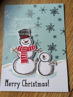 Snow Place - Stampin' Up! little Guys