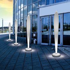 PEGGY LED Design-Stehleuchte für den Außenbereich Jetzt bestellen unter: https://moebel.ladendirekt.de/lampen/stehlampen/standleuchten/?uid=dc9f21fc-235c-5dfd-8d84-4682804c5bfc&utm_source=pinterest&utm_medium=pin&utm_campaign=boards #stehlampen #leuchten #lampen Bild Quelle: www.lampenwelt.de