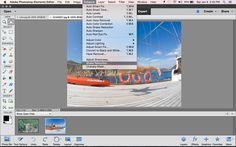 Adobe Photoshop Elements Shake Reduction Tool