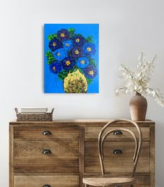 Floral abstract art, flower painting, floral art. This is a textured painting. Textured Painting, Creative Art, Painted Furniture, Abstract Art, Etsy Seller, Flower, Unique Jewelry, Handmade Gifts, Beautiful
