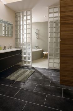 55 meilleures images du tableau brique de verre pav de Carreaux de verre salle de bain