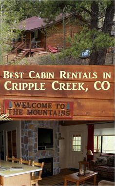 Located about 48 miles west of Colorado Springs … Cabin – Bear Foot Colorado Springs Cabins, Cripple Creek Colorado, Snowshoe, Rafting, Silverton Colorado, Colorado Trip, Half Moon Bay Camping, Water For Health, Places To Rent
