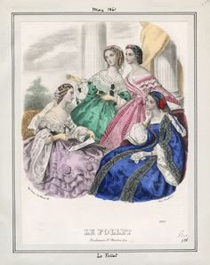 Le Follet, May 1861. LAPL Visual Collection.